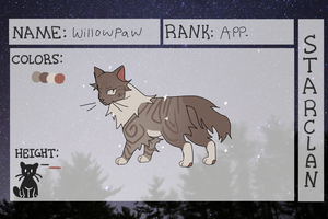[COTB] Willowpaw NPC by badgrl675