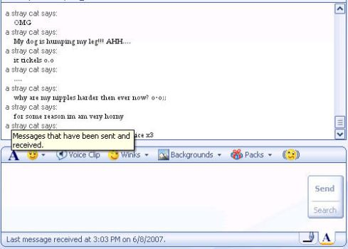 Goin on in my msn, again by Sirhaven