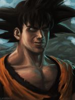 Goku by theLateman