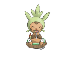 Chespin by whonghaiw