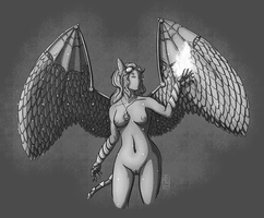 [Quick comm] Winged hope by YokaMycelium