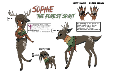 Sophie the Forest Spirit by Xbox-DS-Gameboy
