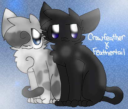 FeatherTail And CrowFeather by ChibiDogTheCute