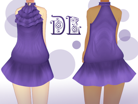 .:: MMD - Frill top dress DL ::. by AneCoco