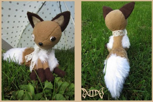 fox plush by konvehti