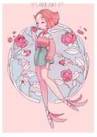 Pearl and her rose by lana-jay