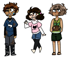 beautiful children I'll fite one day by AskLeona