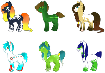 Pony Adopts [CLOSED] by qbrandt