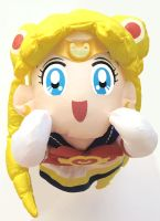 Sailor Moon SuperS Banpresto Super Moon Plush Set by aleena