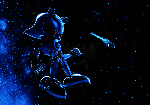 Metal Sonic - Fading by K4VE