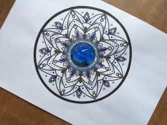 Mandala #3 by thedragoncastle