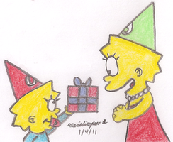 Lisa's Birthday Present by MarioSimpson1