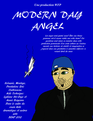 Modern Day Angel theatrical flyer by WildFox03