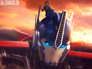 Transformers Prime OC Pov - Operation Bumblebee by Belle-Izumi on