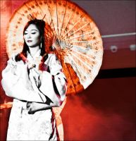 Geisha Umbrella by zerobriant