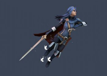 Fire Emblem Awakening - Lucina - Turntable by TheStoff