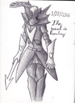 The Wind his Howling (Undertale Undyne) by The-Heraldic-Sword