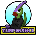 Temperance Badge by Stitchfan