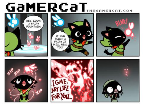 GaMERCaT - Sacrifice by celesse