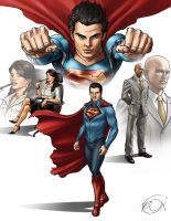 Superman Redesign by robnix