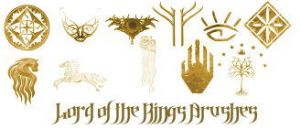 PS Lord of the Rings Brushes by khallandra-stock