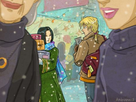 Christmas Somewhere by animama