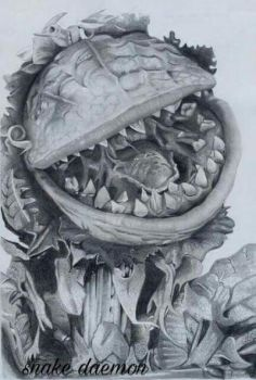 Audrey II by snakedaemon