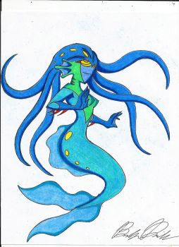 Mermaid Fright Force by DavidsonCartoons