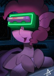 Pinkie Pie and VHS VR by AHEKAO