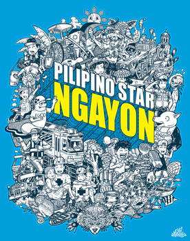Doodle: Pilipino Star NGAYON by LeiMelendres