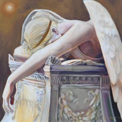 Angel of Grief by BruceCollinsArt