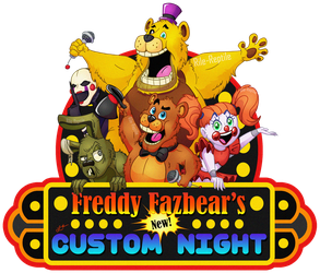 Freddy Fazbears's NEW Custom Night Poster by Rile-Reptile