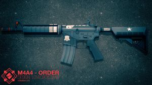 M4A4 | ORDER (CSGO Skin) by NoblesTeam