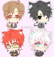 Mystic Messenger : The rest of the gang! by Annacchii
