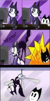bendy and felix the cat comic? by ivy6323