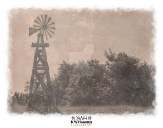 Windmill, Selma, Texas by kwhammes