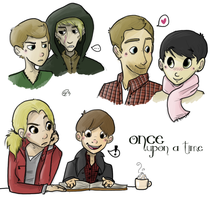 Once Upon A Time Cluster by layt0n
