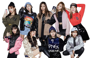 TWICE PNG Pack {MLB Be Major #2} by soshistars