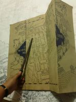 Marauder's Map WIP by ana-wandmaker