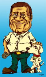 Brian and Peter Griffin by KDLIG