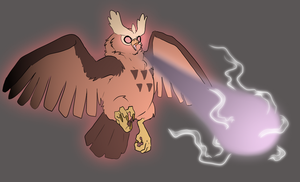 Noctowl used Psychic by CasFlores