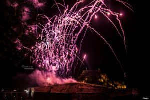 Easter in Corfu- Fireworks II by ginavd