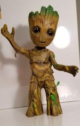 I AM GROOT repaint by phoenixfirestorm