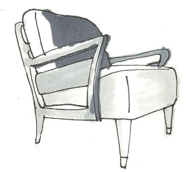 Chair Grey Tone 4 by bagtop