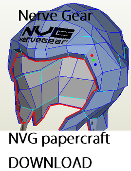 Nerve Gear papercraft by EnDeAth