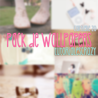 Pack De Wallpapers by tutorialescrazy