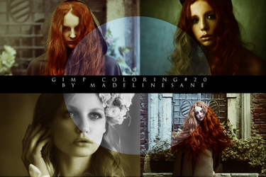 GIMP coloring #20/ luck by MadelineSane