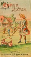 Victorian Advertising - Clipper Mower by Yesterdays-Paper