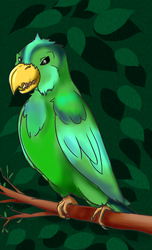 Parrot of Doom by ChovexaniArt