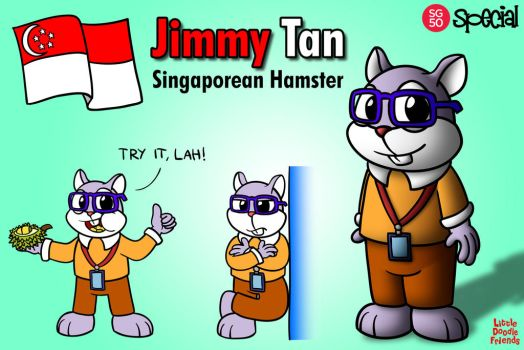 LDF SG50 Special: Jimmy Tan by QuirkyArtie